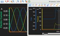 График гидравлических, пневматических и электротехнических параметров