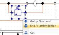 Функции редактирования сборок и групп