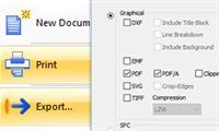 Imprima e Exporte