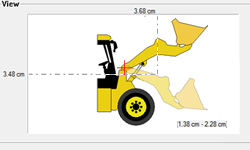 Animación 2D/3D según los circuitos en diagramas