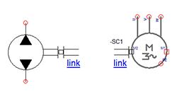 Puertos de conexiones mecánicas en componentes electrotécnicos