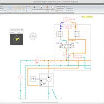 Schéma hydraulique - 3ème partie (simulation)