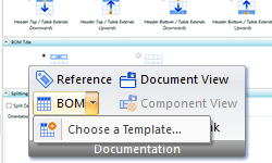 Nomenclature sur le document