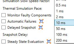 Pas de simulation additionnels