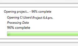 Optimización de apertura, grabación y cierre de proyectos
