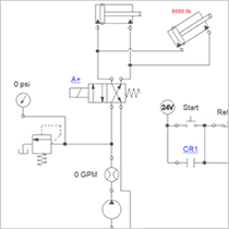 Creating an Electro Hydraulic Circuit