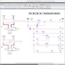 Creating an Electro Pneumatic Circuit