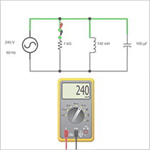 Creating an Electrical RLC Circuit