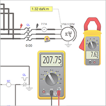 Inserting Measuring Instruments on Your Electrical Circuit