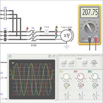 Manipulation of the Multimeter and Oscilloscope