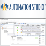 Automation Studio™ - Analyze failure modes, their effects and their criticality (FMECA) Logo