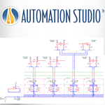 Automation Studio™ - Automate your pneumatic and industrial hydraulic systems ロゴ