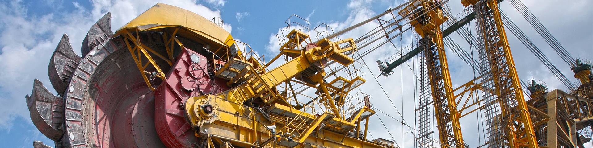 Heavy machinery for mining