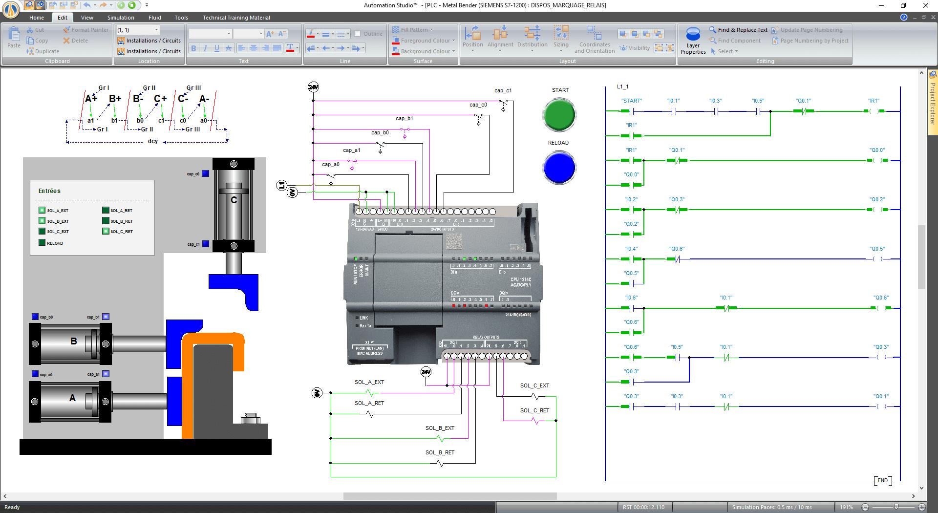 PLC Custom Library