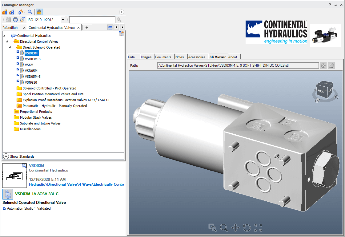 Updated Manufacturers Catalogues