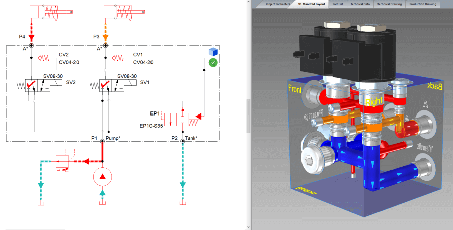 Hydraulic Block Manifold Workshop