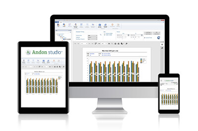 custom reports generation with Andon Studio