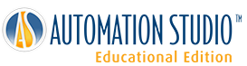 Logo der Automation Studio™ Educational Edition-Software von Famic Technologies