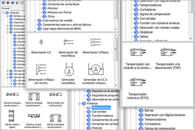Automation Studio Professional software features overview ISO symbols libraries