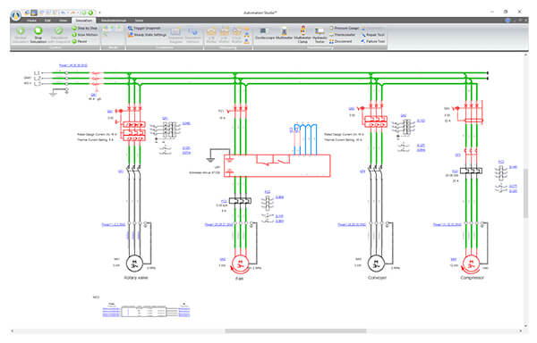 Electrical Simulation Automation Studio Professional Edition