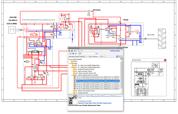 Systemdesign und -engineering in der Automation Studio Professional Edition-Software